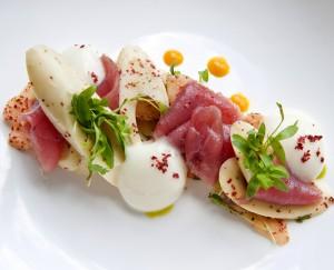 Gallery Restaurant Tuna Crudo