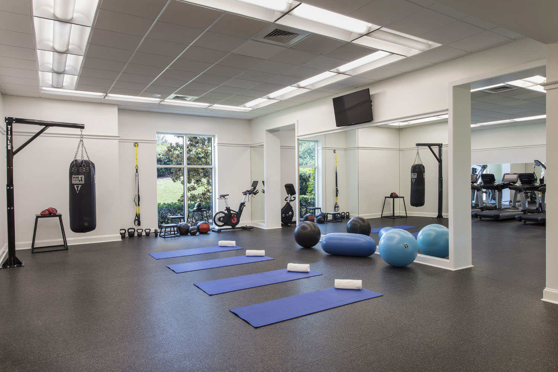 Resort Fitness Center in Jumeirah Beach | 24-Hour | Four