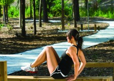 Fitness Park in the nearby Ballantyne Corporate Park