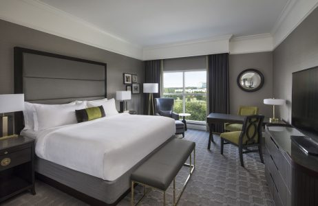 Luxury Grand Deluxe King Hotel Room at The Ballantyne, A Luxury Collection Hotel, Charlotte North Carolina | Luxury Hotel | Luxury Resort | Spa | Golf | Dining | Weddings | Meetings