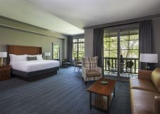 The Lodge at Ballantyne, Charlotte North Carolina King Hotel Room with Balcony | Meeting Retreat, Wedding Venue
