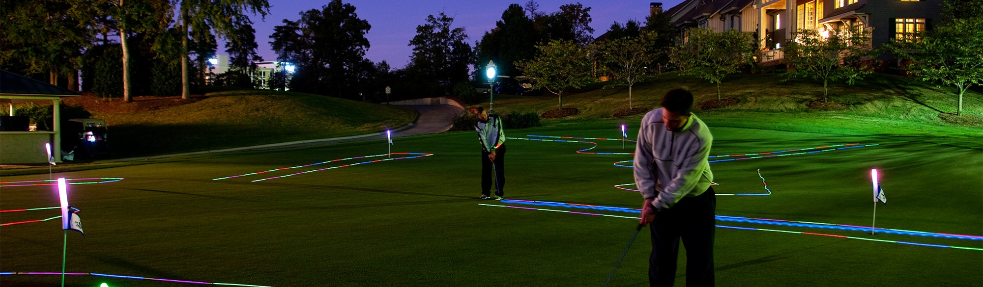 Night Putting at the Ballantyne