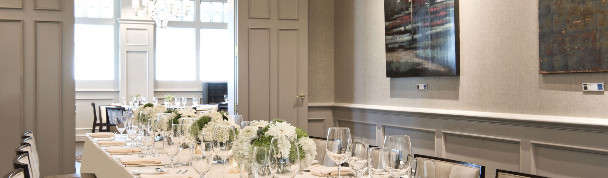 Private Dining Room at Gallery Restaurant Charlotte