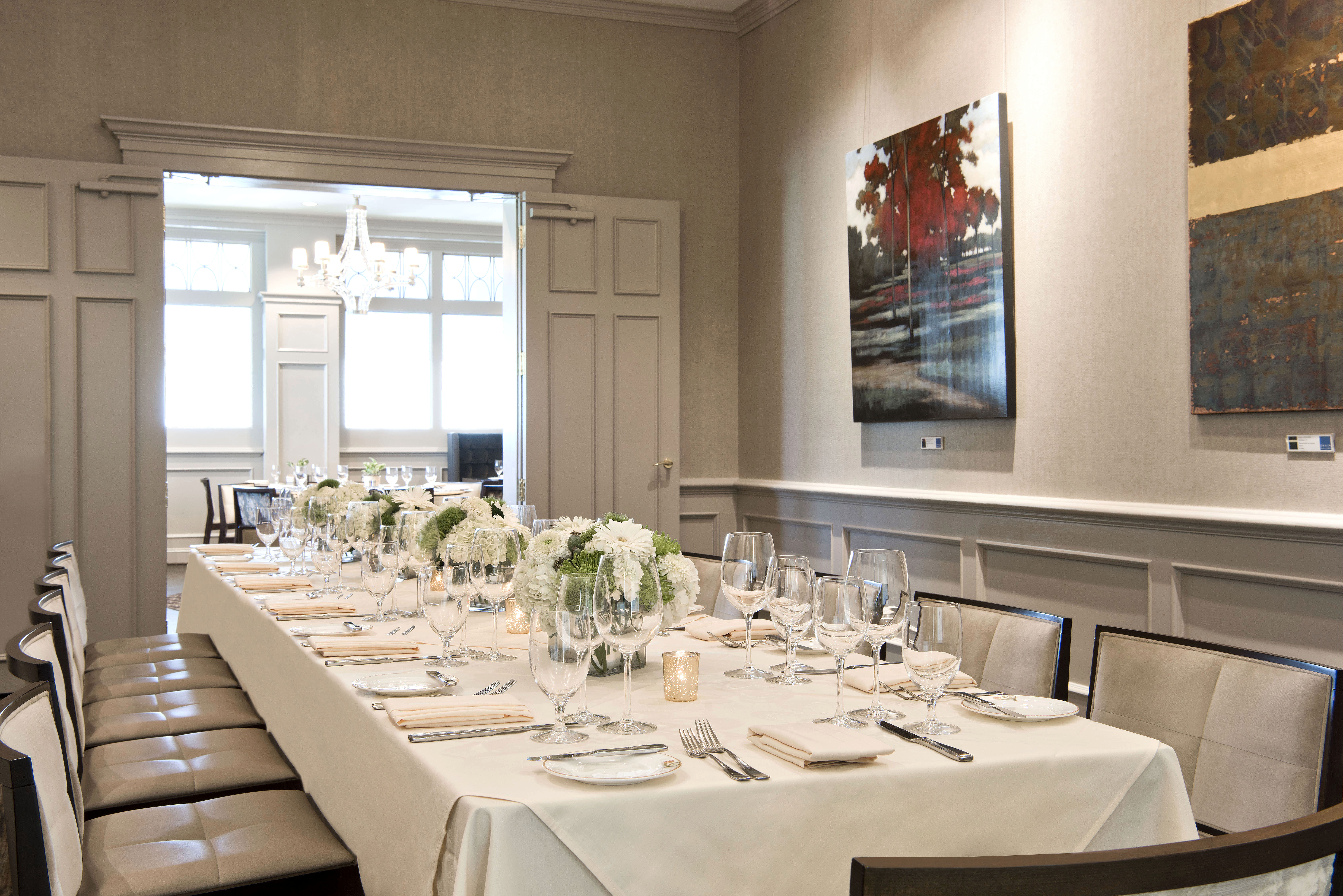 Private Dining The Gallery Restaurant Charlotte NC