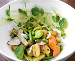 Spring Vegetable Gnocchi