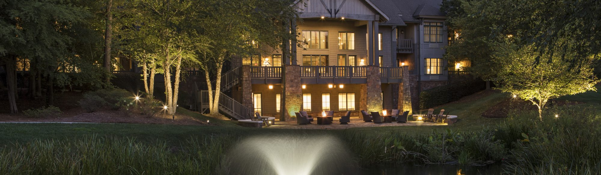 The Lodge at Ballantyne Group Retreat and Wedding Venue Charlotte North Carolina