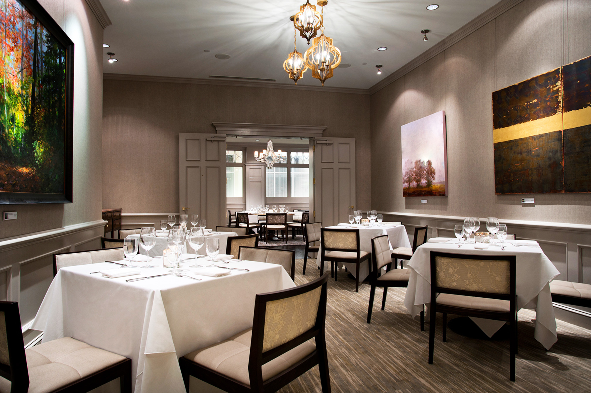 private dining  u2013 the gallery restaurant  charlotte  nc