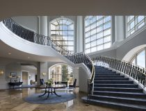Grand Staircase and Atrium at The Ballantyne, Charlotte