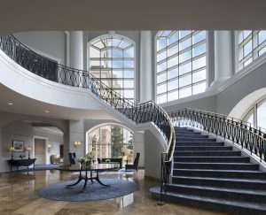 Grand Staircase and Atrium at The Ballantyne, A Luxury Collection Hotel, Charlotte
