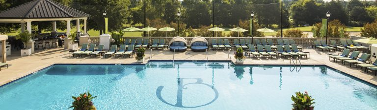 Outdoor Pool At The Ballantyne Charlotte