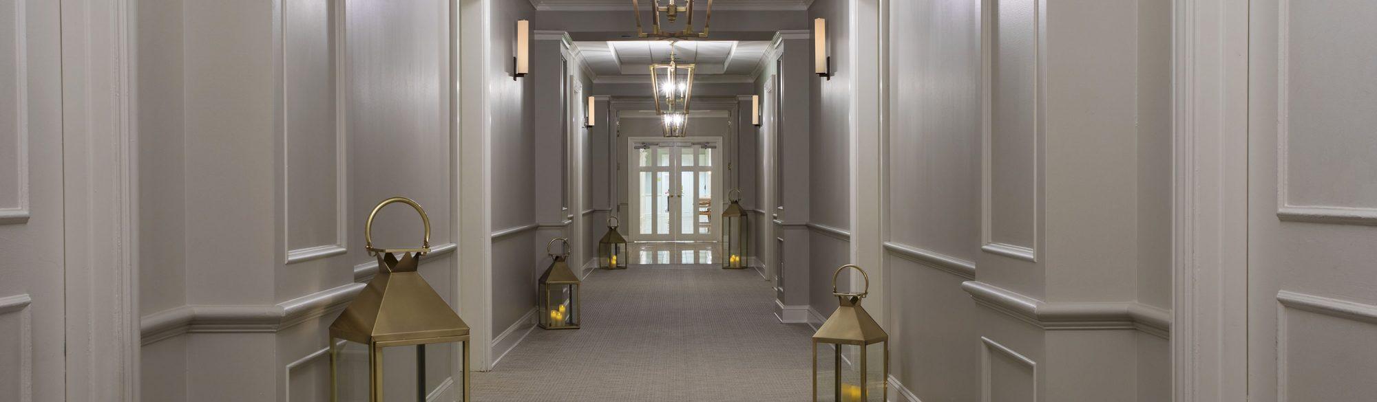 The Spa at Ballantyne Treatment Corridor